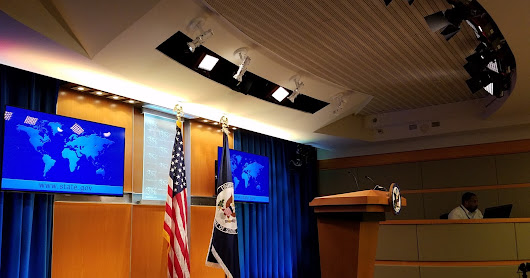 Barbizon Lighting Updates The State Department's Briefing Room