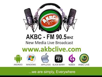 AKBC test-runs live internet radio, targets 100m listeners - thekillerpunch News