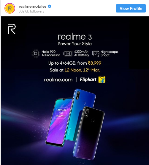 Berikut Harga HP Realme 3 dan Spesifikasi Lengkap 2019