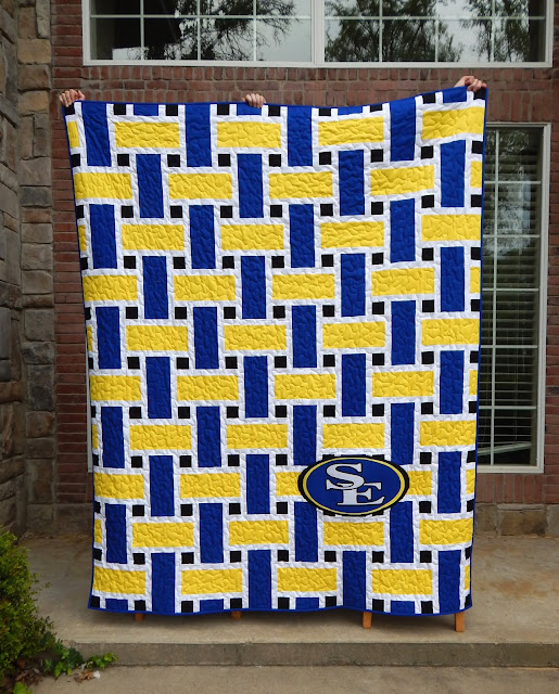 The Fleming S Nine Rah Rah Rally Quilt