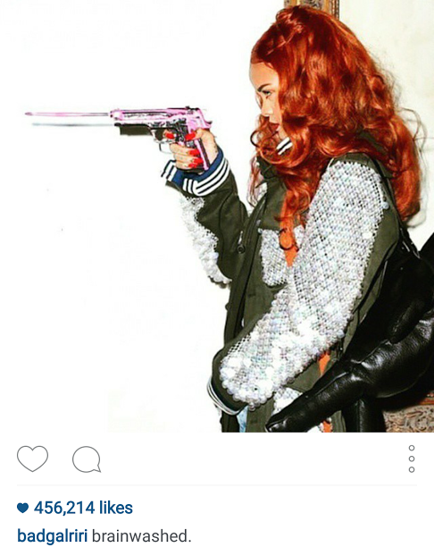 Rihanna Posing With A Gun In A Dior Campaign Video Goes Viral