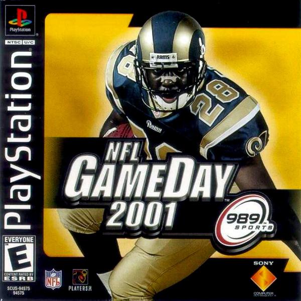 NFL GameDay 2001 - PS1 - ISOs Download