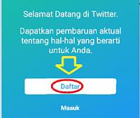Daftar twitter