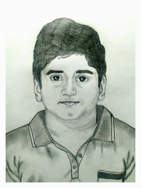 PENCIL DRAWING - NIDISH KUMAR
