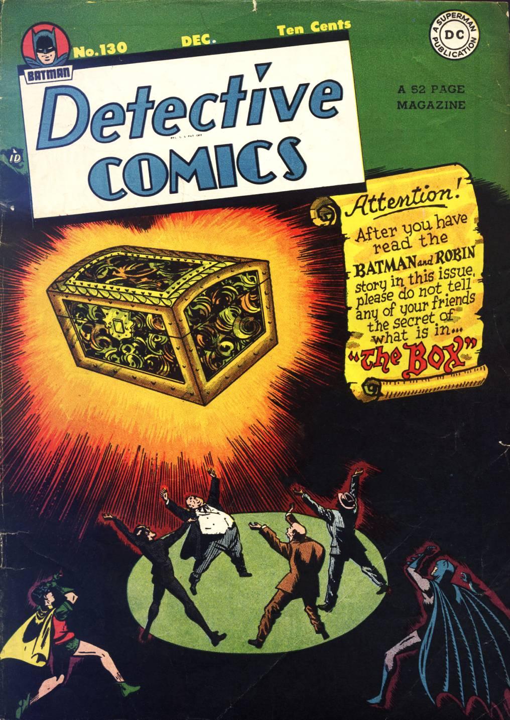 Detective Comics (1937) 130 Page 0