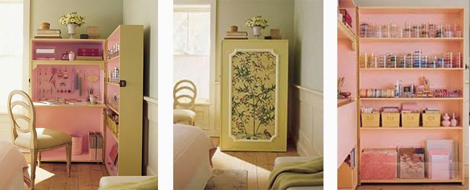 un bureau dans le placard blog d co mydecolab. Black Bedroom Furniture Sets. Home Design Ideas