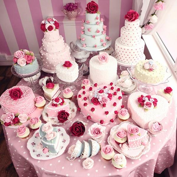 Cath Kidston Cake Table