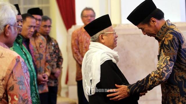 PPP Sempat Ajukan KH Ma'ruf Amin sebagai Cawapres Jokowi