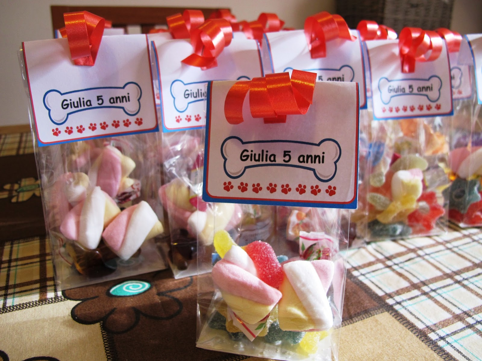 Favoloso Angolino di Liana: Sacchetti Caramelle Compleanno Paw Patrol VO13