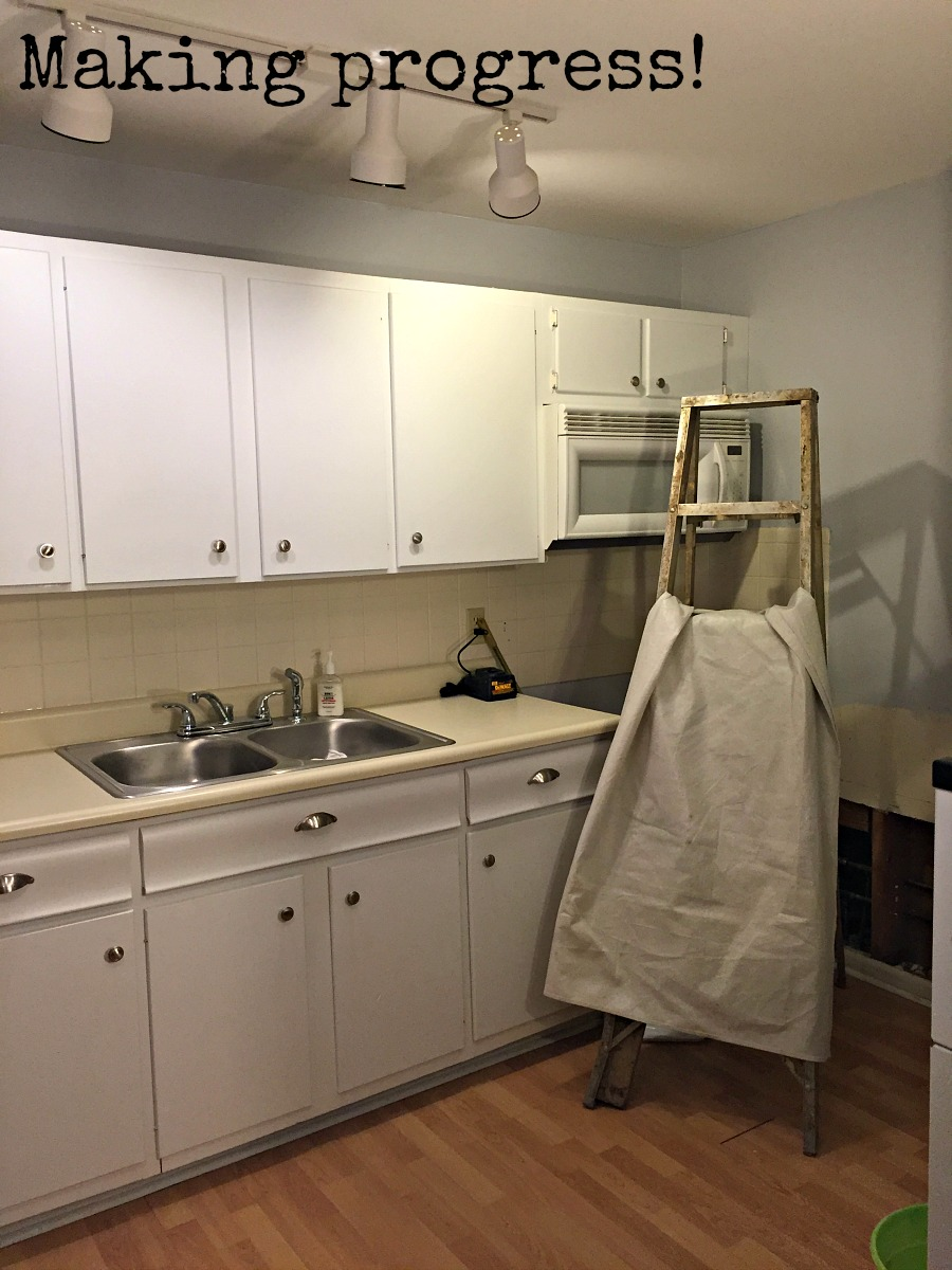 Kitchen almost completed