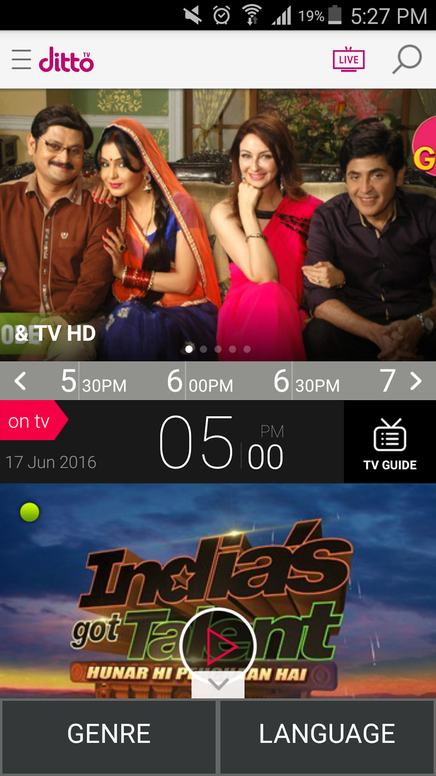 Techstuff: Watch TV On The Go With The New DittoTV At Just Rs 20