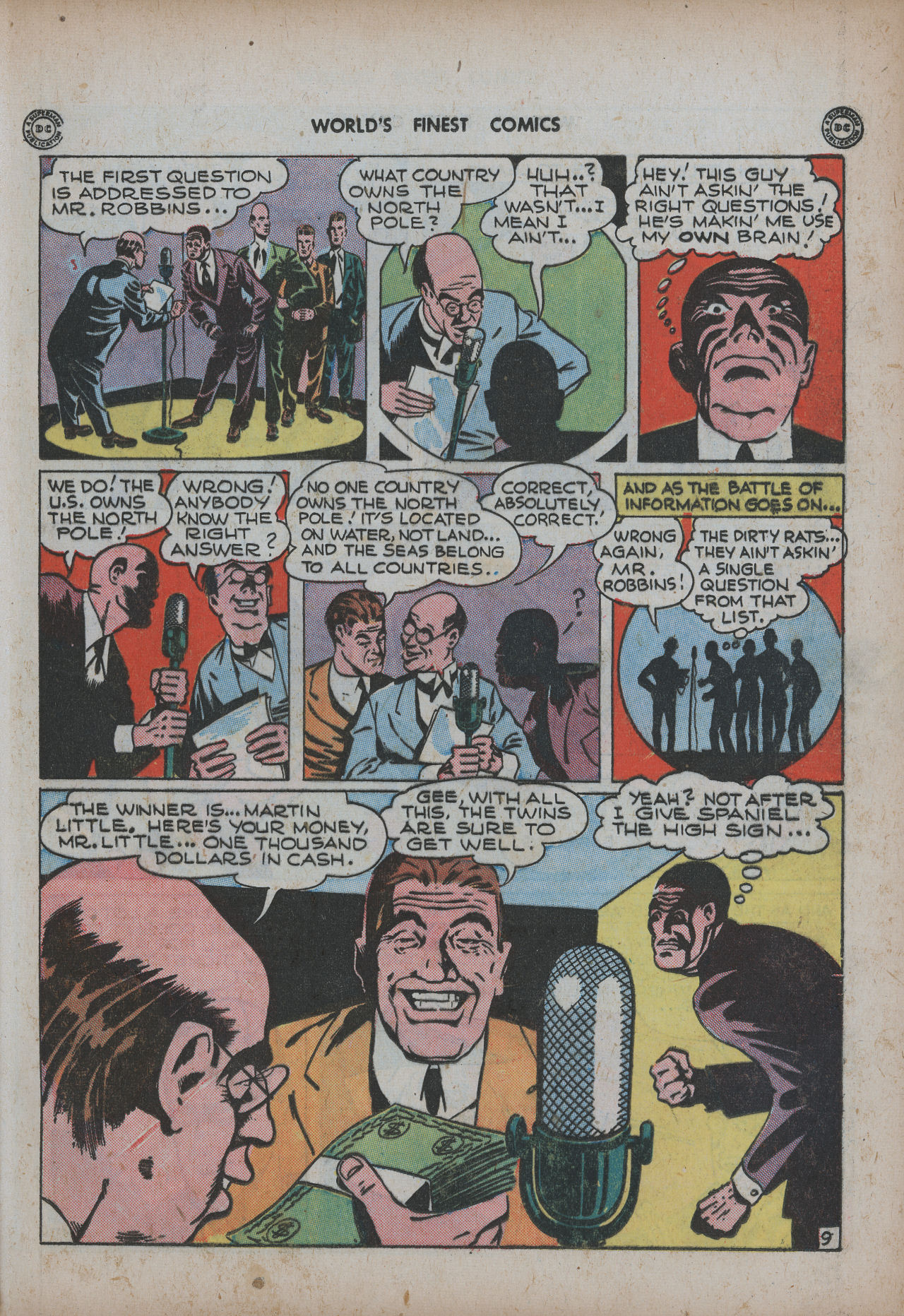 Read online World's Finest Comics comic -  Issue #20 - 25
