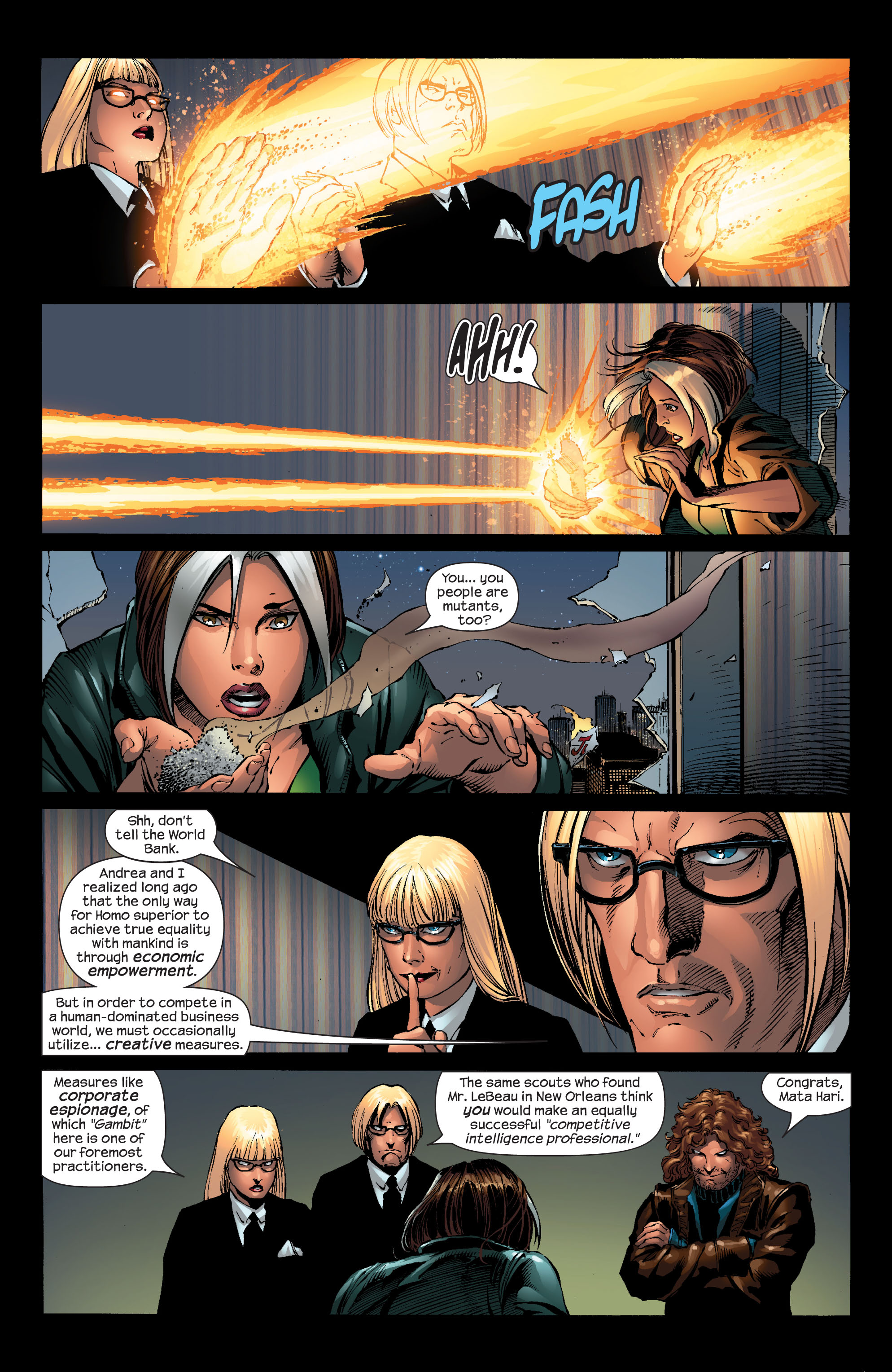 Read online Ultimate X-Men comic -  Issue #51 - 20