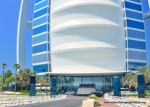 entrance to Burj Al Arab