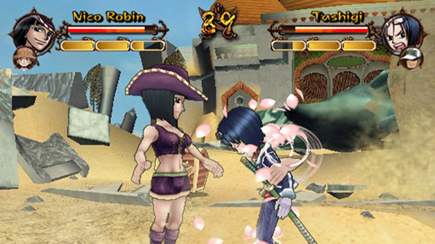 One Piece Grand Adventure PS2 GAME ISO Screenshot 1