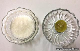 Sáp hỗn hợp wax lông gồm 3 tp chính: Chanh, đường và mật ong