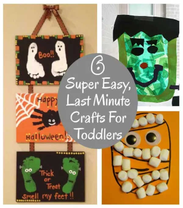6 Super Easy Last Minute Crafts For Toddlers Diy Home Sweet Home