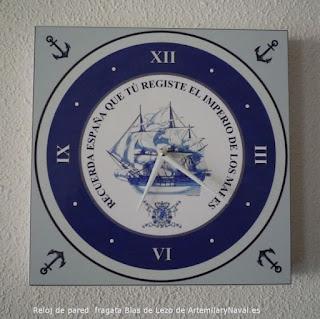 Reloj de pared estilo nautico