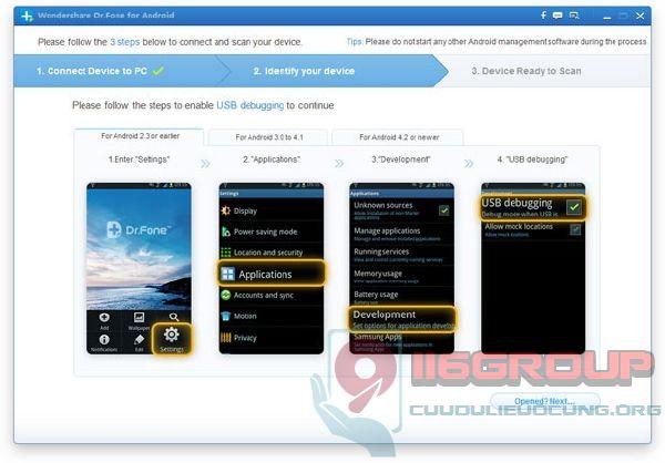 Cách phục hồi dữ liệu điện thoại Android