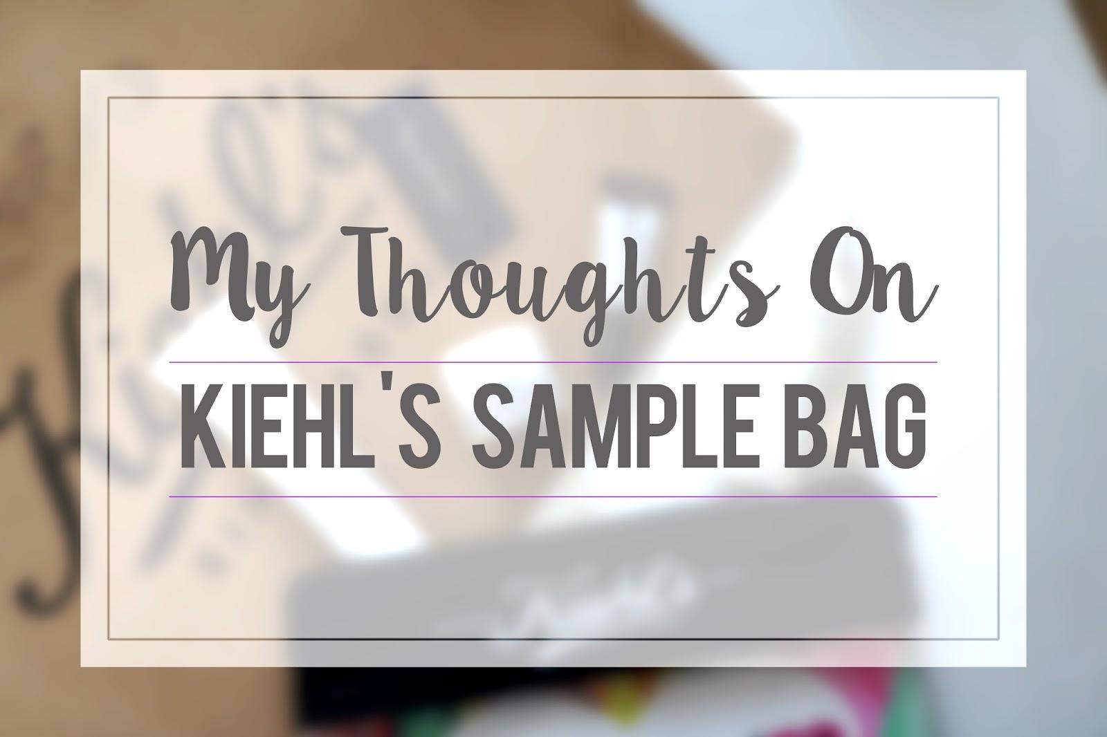 Kiehl's Skincare Review