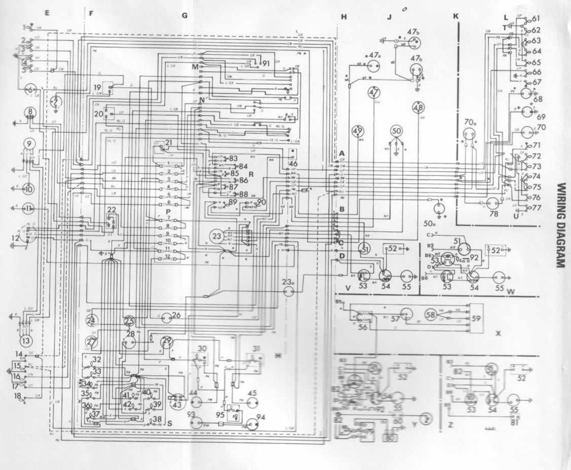 Dodge 50 Series Complete Wiring Diagram