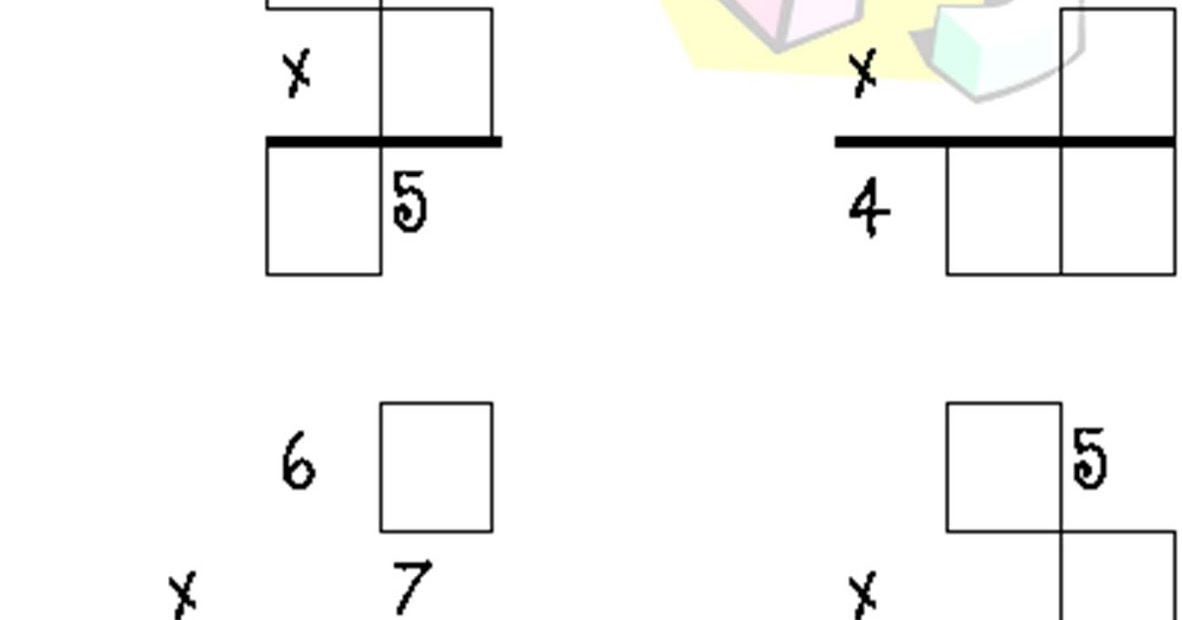 Classroom Freebies: Free Multiplication Puzzle