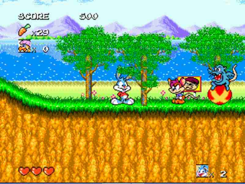 Tiny Toon Adventures Game Download Free For PC Full Version