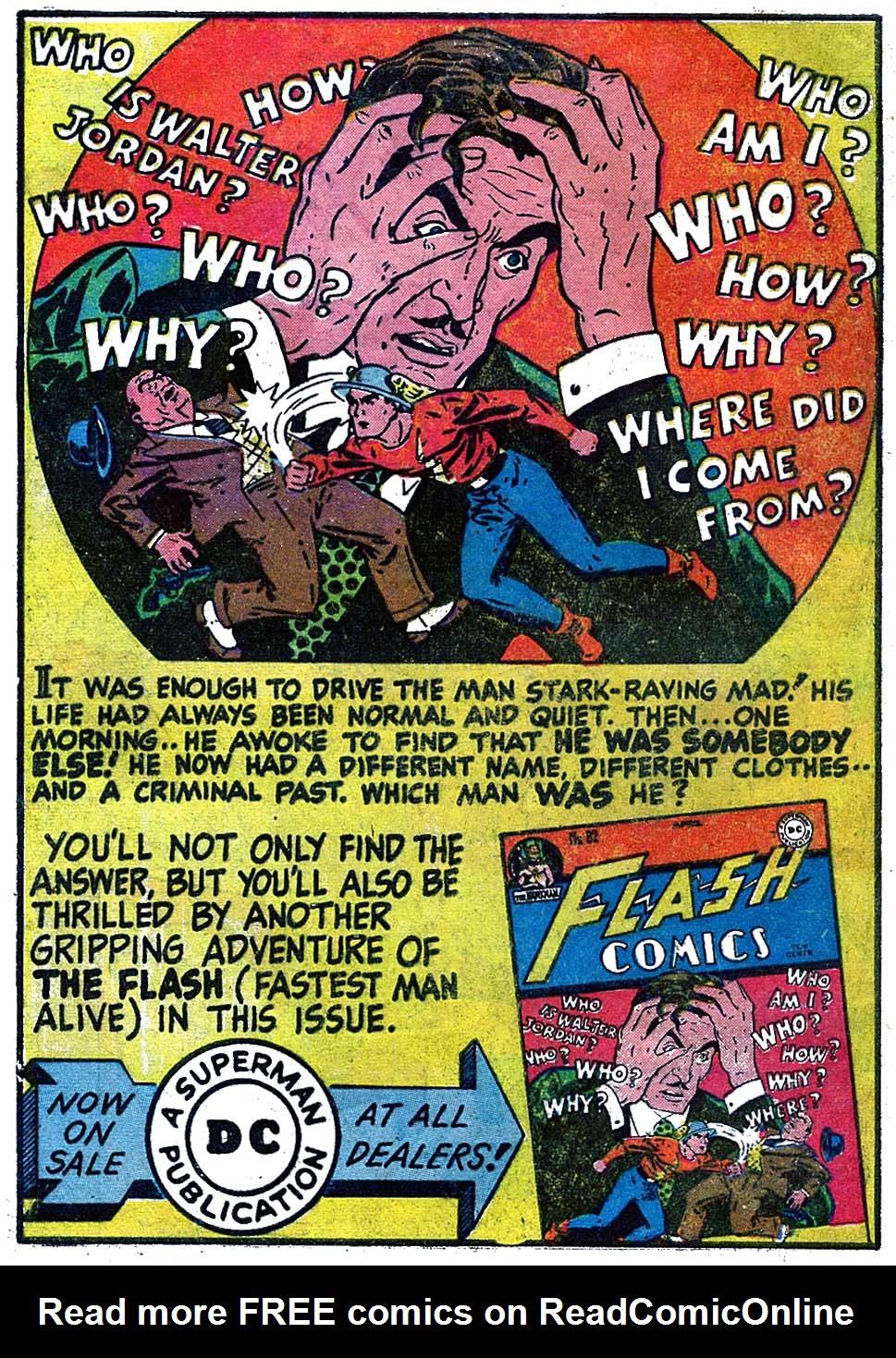 Read online All-American Comics (1939) comic -  Issue #84 - 10