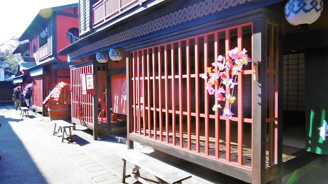 京都・東映太秦映画村 江戸の町並み 吉原通り