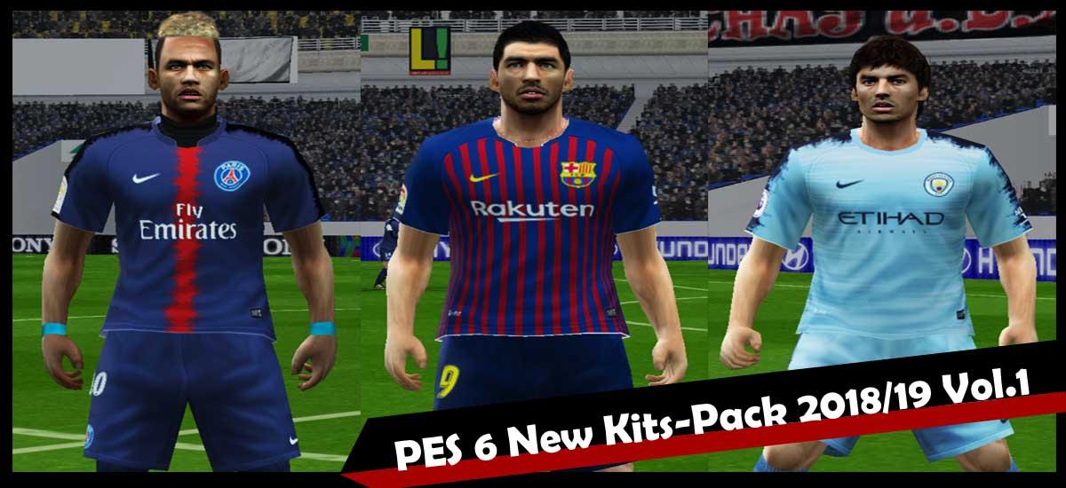 803e4c70326 PES 6 New Kits-Pack 2018 19 vol.1