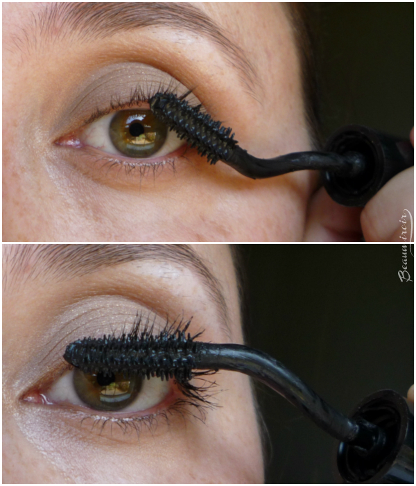 Lancome Grandiose mascara: application technique