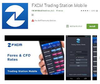Ulasan Aplikasi Broker FXCM Di Android