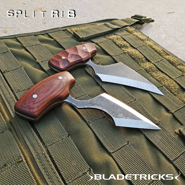 beautiful Bladetricks custom handcrafted push daggers