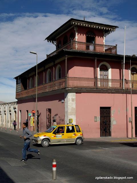 Peru transport, taxi