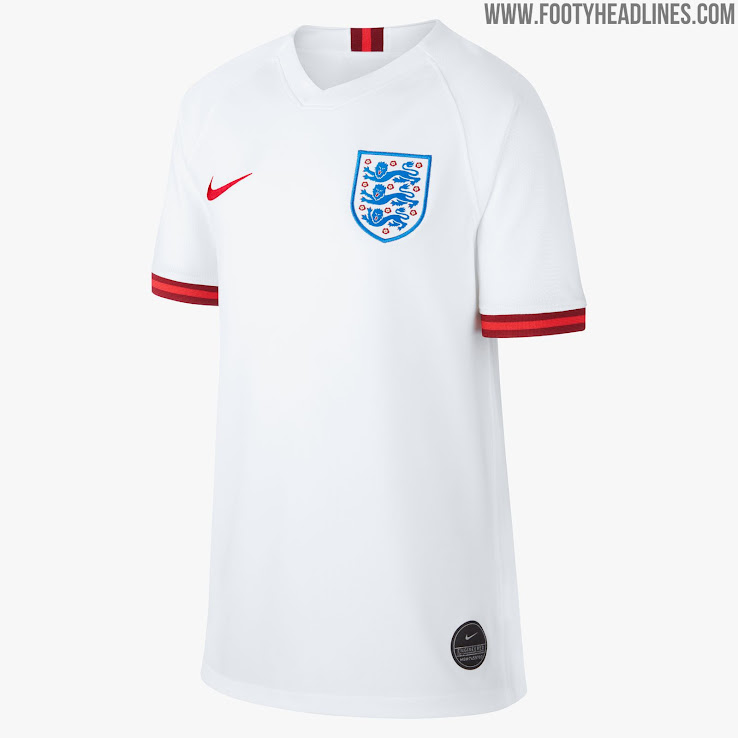 England 2019 Women s World Cup Home Kit Revealed - Footy ... 7f1824aaa