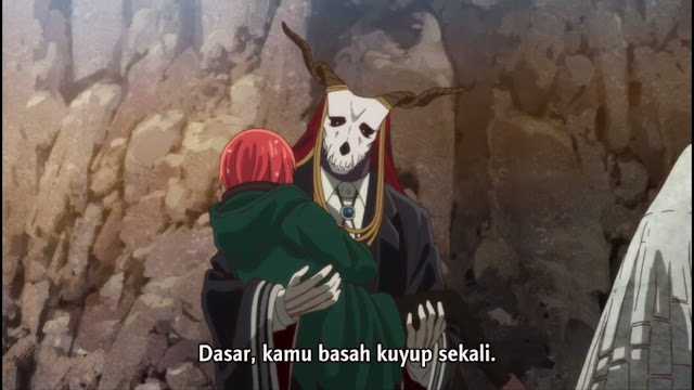 Mahoutsukai no yome episode 3 sub indo