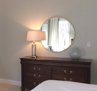 after picture of dresser area in bedroom