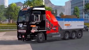 MAN TGX 2010 v4.1 truck mod by XBS