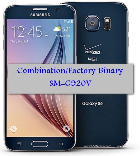 File COMBINATION_VZW_FA50_G920VVRU4AOK1 Galaxy S6 G920V