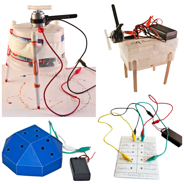 What can you build with a simple DIY tinker kit?