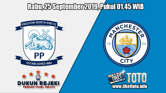 Prediksi Preston North End VS Manchester City 25 September 2019