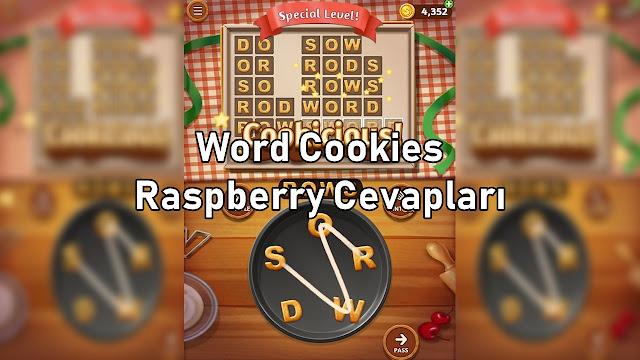 Word Cookies Raspberry Cevaplari