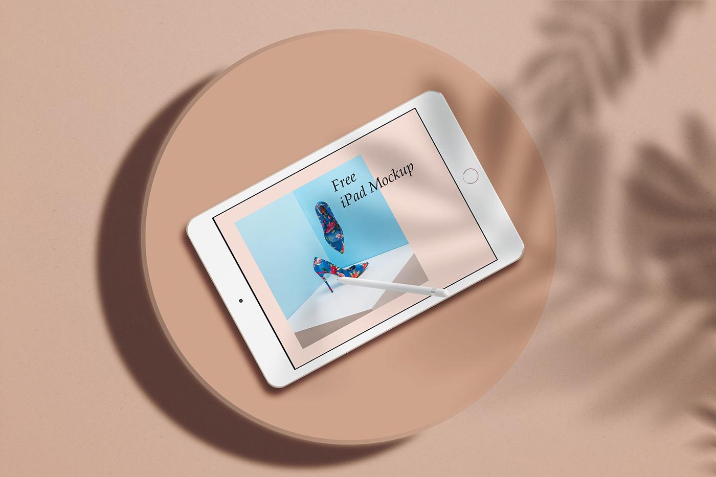 Minimal iPad Mockup Freebie