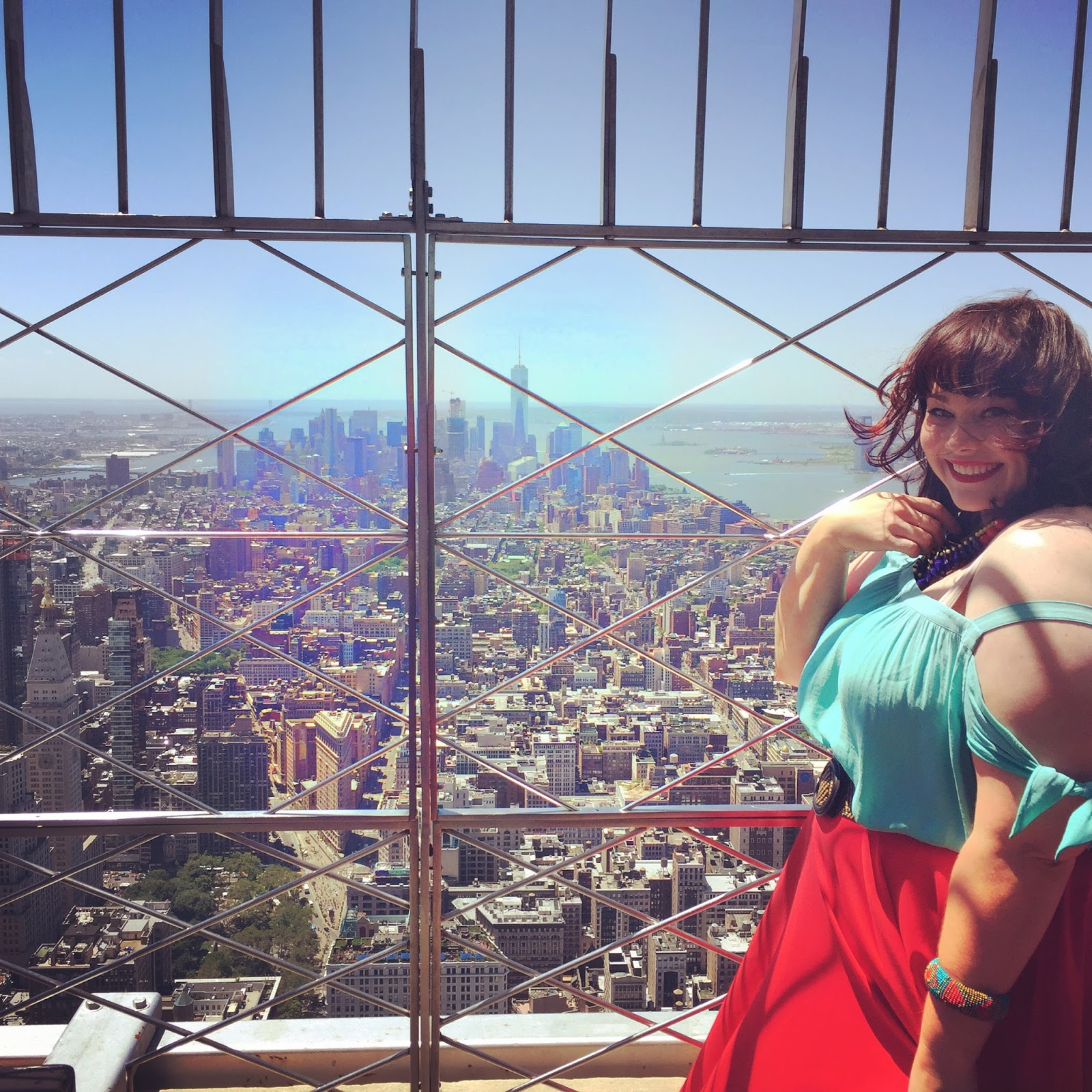 Plus Size Blogger Style Plus Curves at Empire State Building View