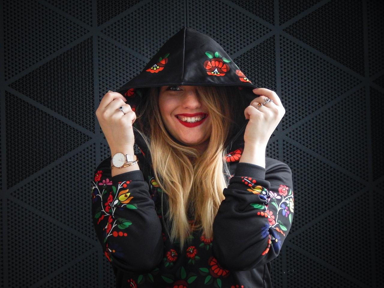 f1-2 folk by koko recenzja opinie ubrania folkowe łowickie motywy bluza góralska sukienka kodra łowicka folkowe ubrania moda ludowa pomysł na prezent fashion blog melodylaniella łódź dworzec łódź fabryczna
