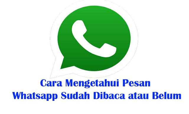Cara Mudah Mengetahui Pesan Whatsapp Sudah Dibaca atau Belum