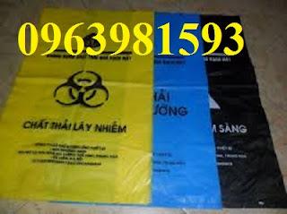 Cung cấp túi đựng rác y tế, túi rác giá rẻ, túi đựng chất thải giá rẻ