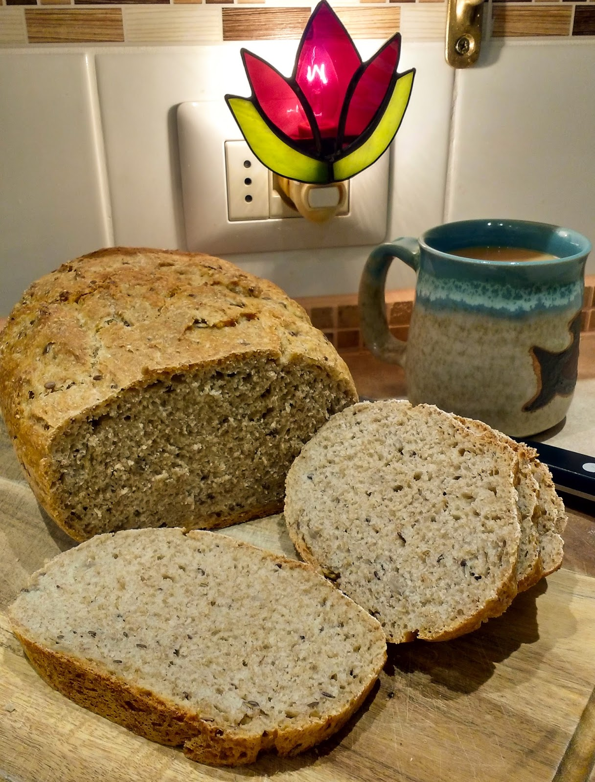 pan de centeno con avena