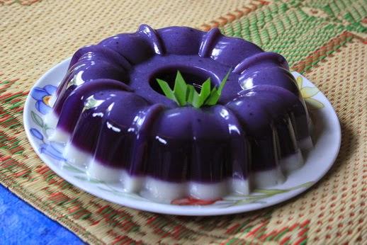 Resep Cake Ubi Ungu Kukus Sajian Sedap: Sweet Cake: Resep Puding Ubi Ungu