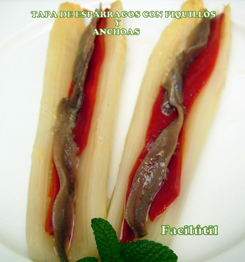 espárragos-con-piquillo-y-anchoas